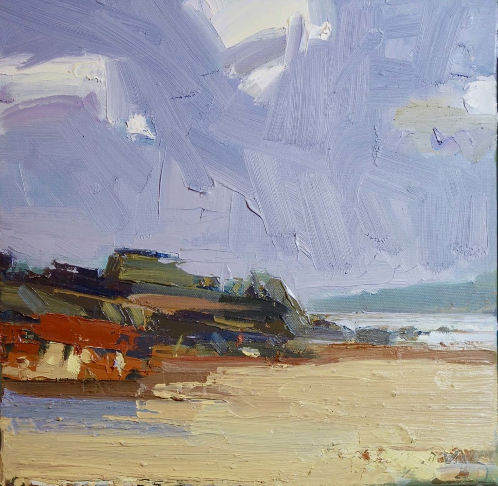 OIl painting of St Ives by Gary Long