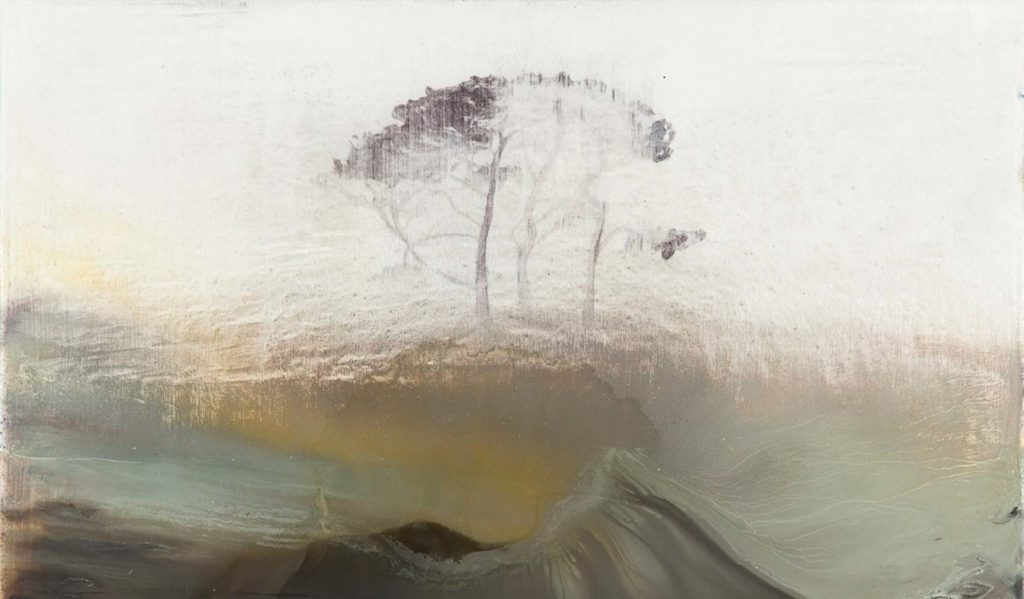 landscape painting focus on experimentation art course in St Ives Cornwall