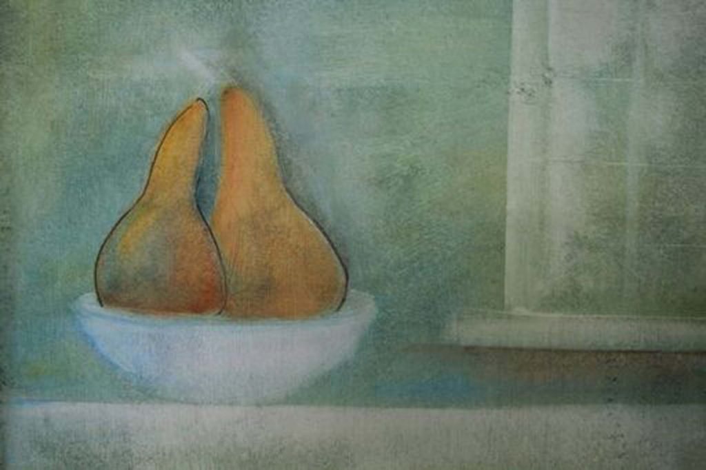 simple still life painting art course with Marion Taylor and Liz Luckwell overlooking the beach