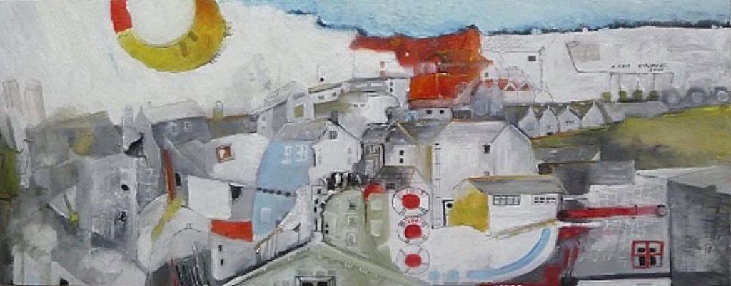 art course Ilker painting